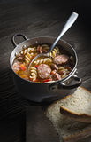 Sausage stew Stock Photography