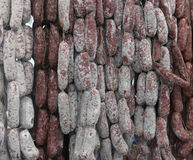 Sausage in the store Stock Photography
