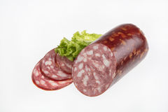 Sausage And Vegetables Stock Photo