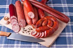 Sausages Stock Photo