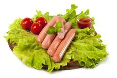 sausages Royalty Free Stock Photography