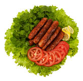 Sausages Royalty Free Stock Photos