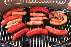 Sausages barbecue Stock Photography
