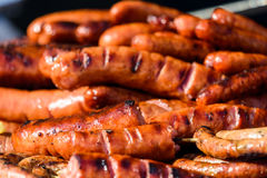 Sausages Barbecue Grill Stock Photography