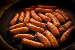 Sausages royalty free stock image