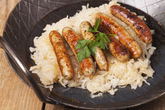 Sausages Stock Photography