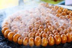 Sausages grill Stock Photos