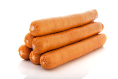 Sausages for hot dogs Stock Image
