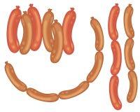 Sausages stock illustration