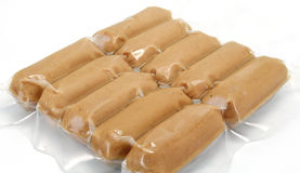 Sausages pack Royalty Free Stock Images