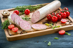 Sausages with props Stock Image
