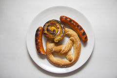 Sausages variety Royalty Free Stock Photography