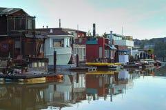 Sausalito - het leven op water 2 royalty-vrije stock foto