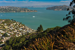 Sausalito hillside, Belvedere, Angle Island, San Francisco Bay Stock Images