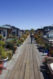 Sausalito houseboats Stock Images