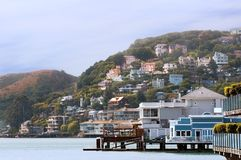 Sausalito la Californie Images libres de droits