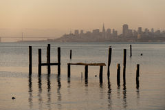 Sausalito morning Royalty Free Stock Image