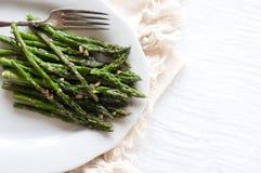 Sautéed asparagus Obraz Stock