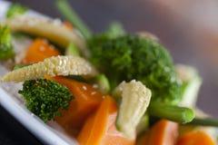 Sautéed-Gemüse Stockbilder