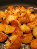 Sauté potatoes Royalty Free Stock Images
