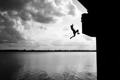 saut Photo stock