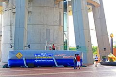 Saut de Bungy à la tour de Macao, Macao, Chine Photographie stock libre de droits