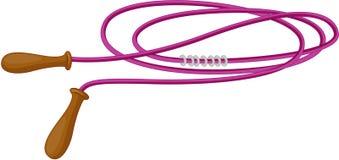 saut de corde Photographie stock libre de droits