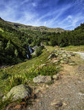 Saut. Deh Pish, Central Pyrenees, Spain Royalty Free Stock Photography