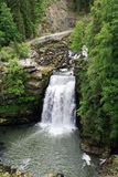 The Saut du Doubs, great waterfall Royalty Free Stock Photography