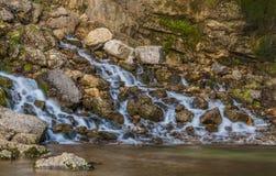 Saut Girad siklawa, Francja Zdjęcie Royalty Free