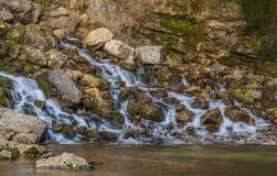 Saut Girad Waterfall, France Royalty Free Stock Photo