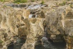 Sautadet waterfall Stock Image