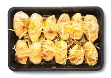 Saute potatoes Stock Photography