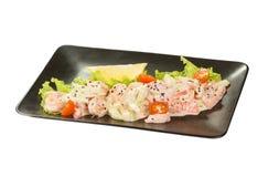 Saute Shrimps Stock Photography