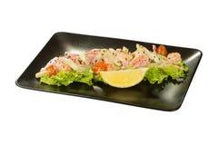 Saute Shrimps Royalty Free Stock Image
