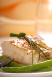 Sauted cod filet Royalty Free Stock Photography