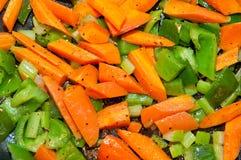 Sautee di verdure Immagine Stock Libera da Diritti