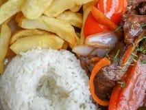 Sauteed Beef Tenderloin Stock Image