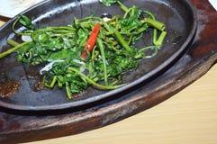 Sauteed kangkung Stock Image