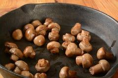 Sauteed mushrooms Royalty Free Stock Photography