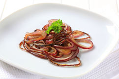 Sauteed onion Royalty Free Stock Image