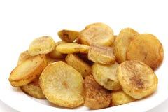 Sauteed potatissidosikt royaltyfria foton