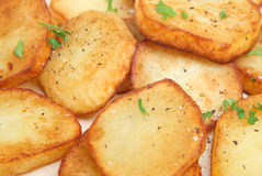 Sauteed Potatoes Stock Image