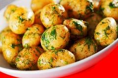Sauteed potatoes Royalty Free Stock Photography