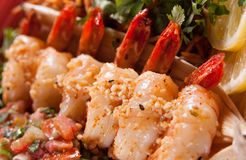 Sauteed Shrimp Royalty Free Stock Image