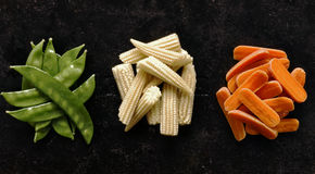 Sauteed vegetables Stock Photography