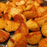 Sauteerde aardappels Royalty-vrije Stock Fotografie