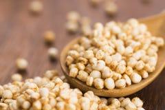 Sauter de quinoa image libre de droits