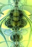Sauterelle abstraite illustration de vecteur