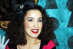 Sautez le chanteur Viktriya Dajneko à la première d'Ali Image stock